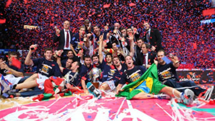 Tercer título de campeón de la Liga ACB para el Baskonia. (ACB PHOTO)