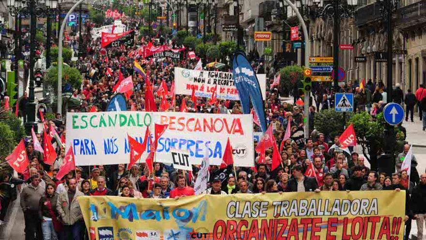 Manifestación 1 de Mayo en Vigo