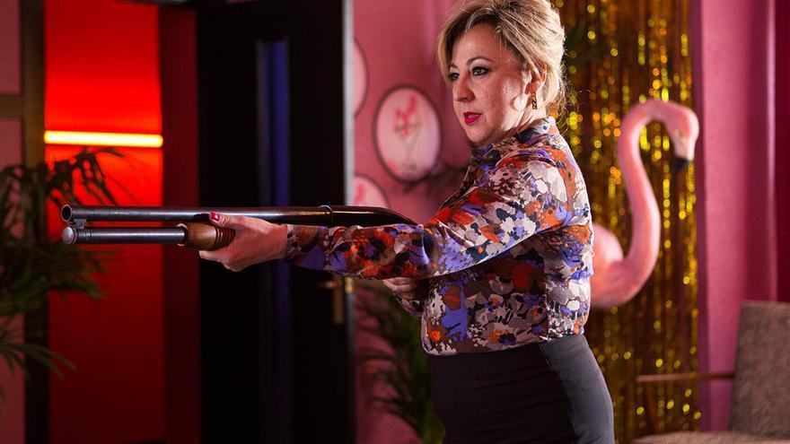 La actriz Carmen Machi, en una imagen promocional de 'Villaviciosa de al lado'