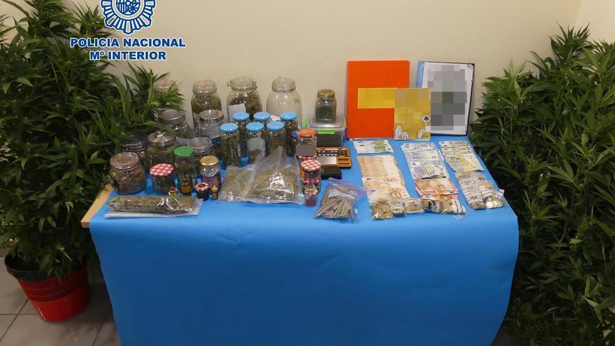 Sustancias requisadas a los tres detenidos en Telde