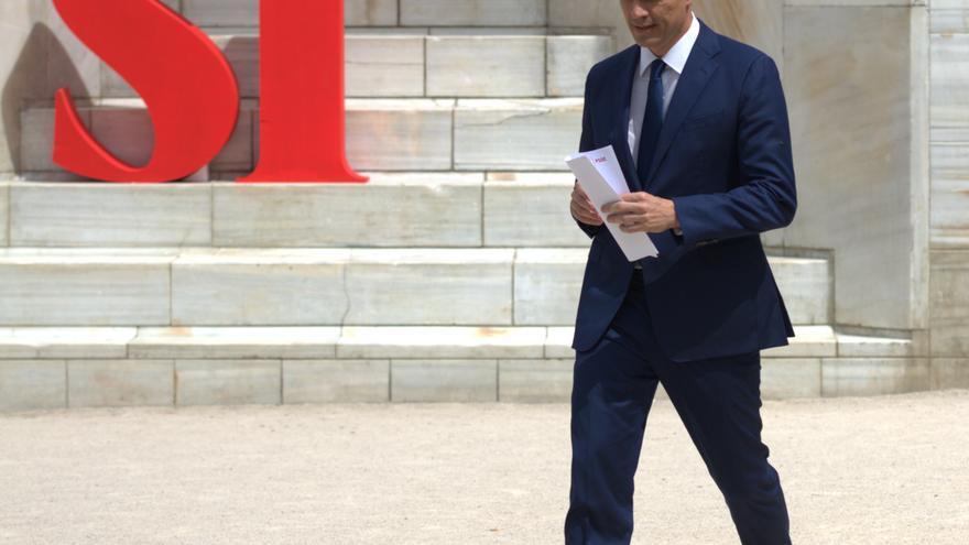 Pedro Sánchez en una imagen de archivo durante la precampaña del 26J. Foto: Borja Puig (PSOE)