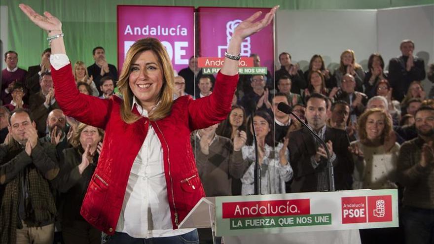 Susana Díaz ultima el inminente adelanto electoral para el 22 de marzo