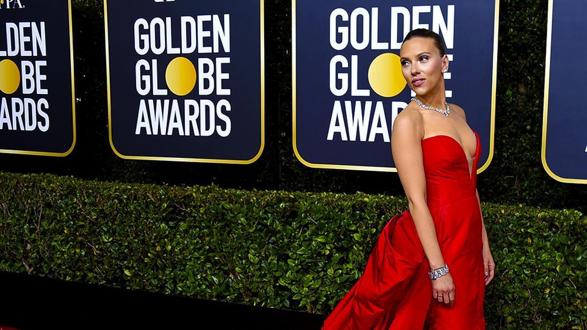 Scarlett Johansson, contra los Globos de Oro