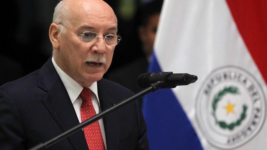 El ministro de Relaciones Exteriores de Paraguay, Eladio Loizaga.