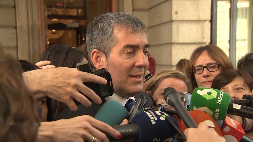 El presidente de Gobierno de Canarias, Fernando Clavijo.