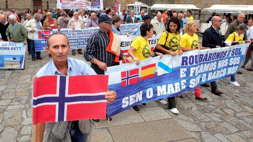 Exmarinos de Noruega comienzan su periplo judicial que acabará en Estrasburgo (Francia)