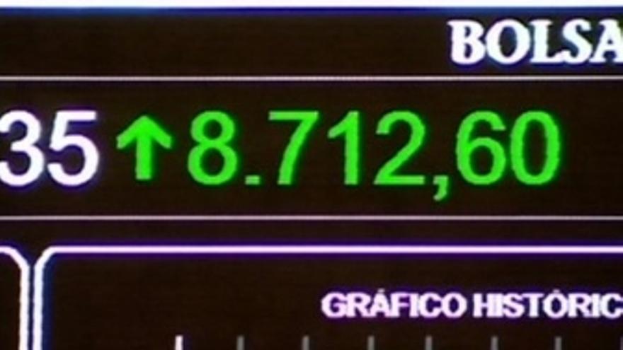 El Ibex sube un 1,61% espoleado por la rebaja de tipos