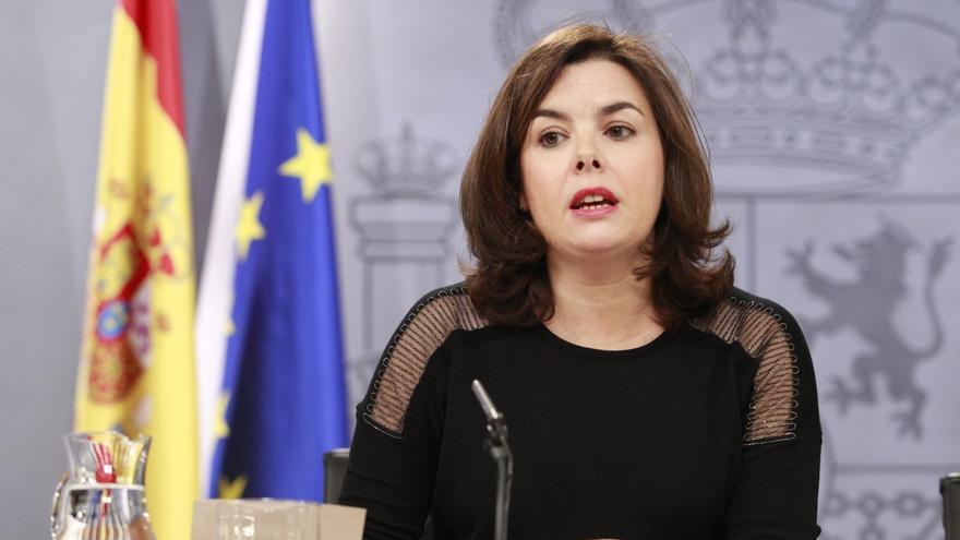 """Sáenz de Santamaría espera que la investigación sobre los pagos de Irán a Podemos """"llegue hasta el final"""""""