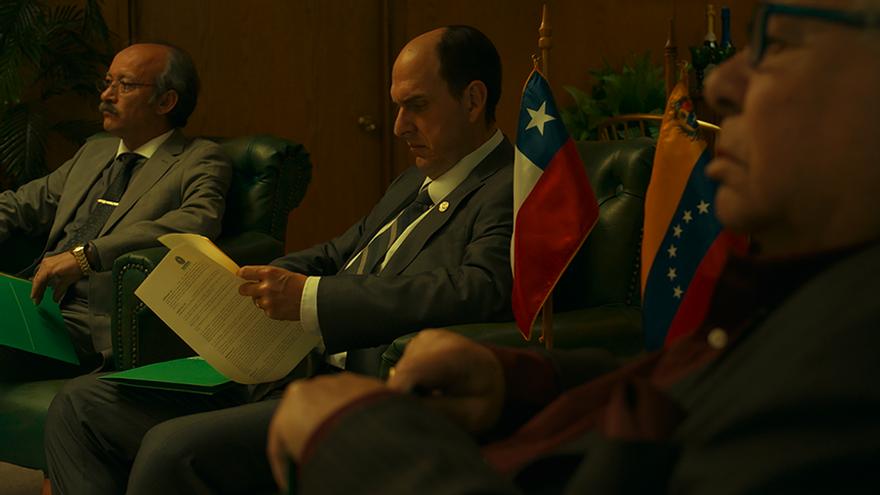 Andrés Parra interpreta a Sergio Jadue en 'El Presidente'