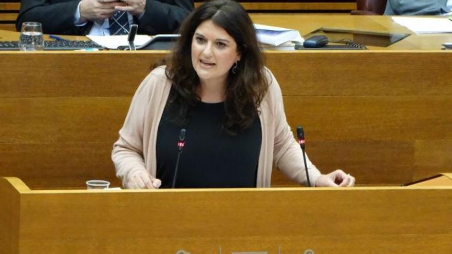 La representante de Podemos, Fabiola Meco