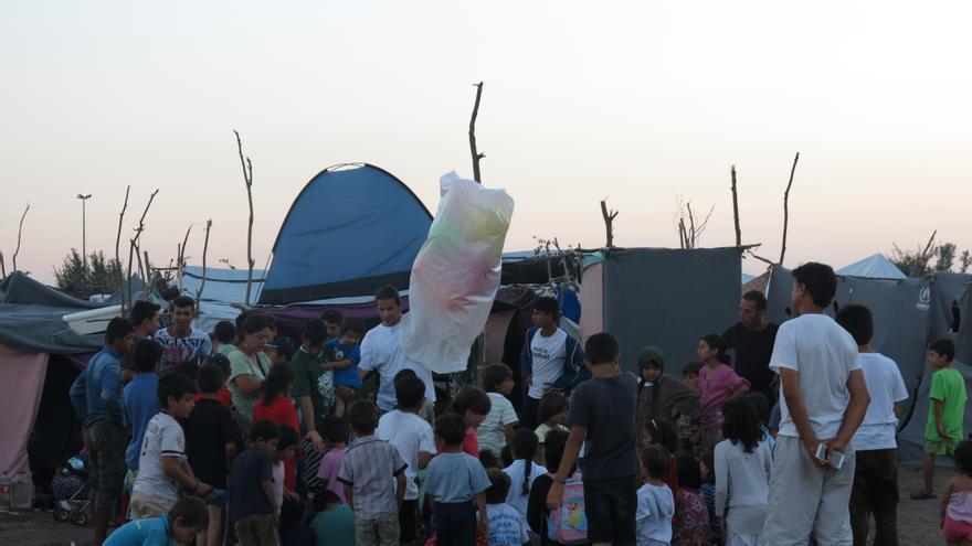 Frontera entre Serbia y Hungría / Amnesty International