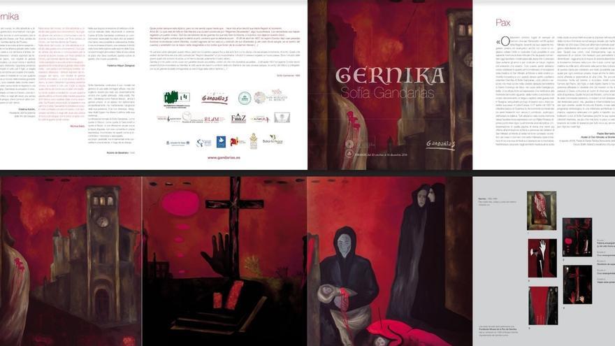 Borrell inaugurará este sábado en Florencia la exposición 'Gernika' de la artista española Sofía Gandarias