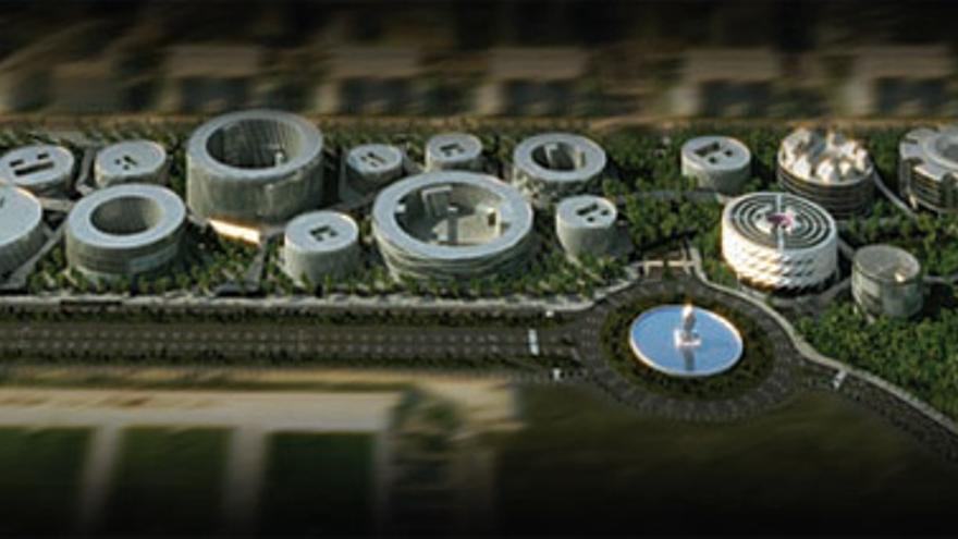 Campus De La Justicia Una Coleccion De Arquitectos Famosos Para Un
