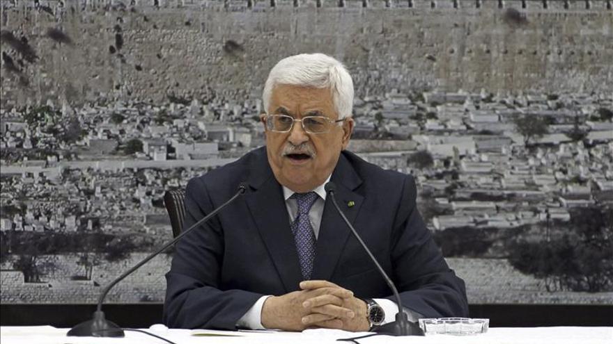 Abás dice que Netanyahu acepta un estado palestino en las fronteras de 1967
