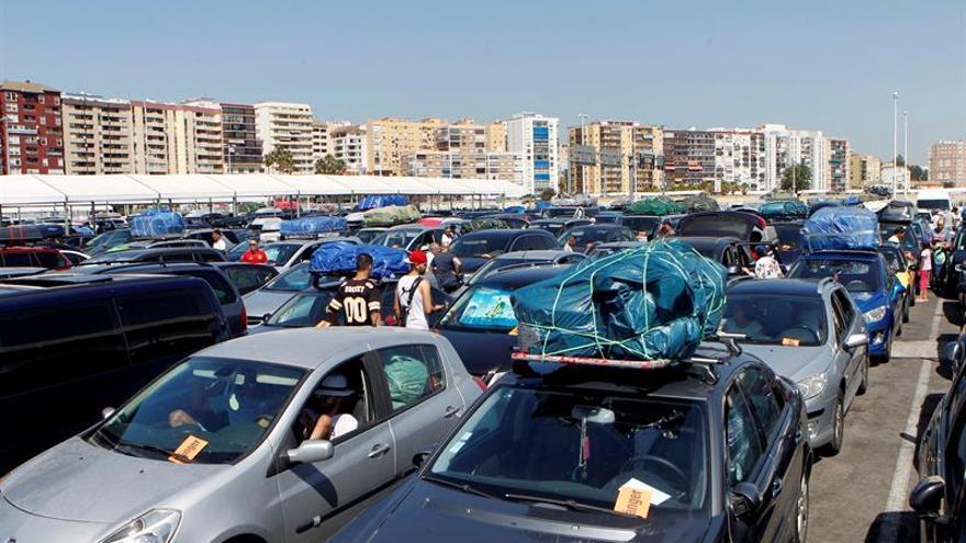 La operación Paso del Estrecho supera por primera vez los 3 millones pasajeros