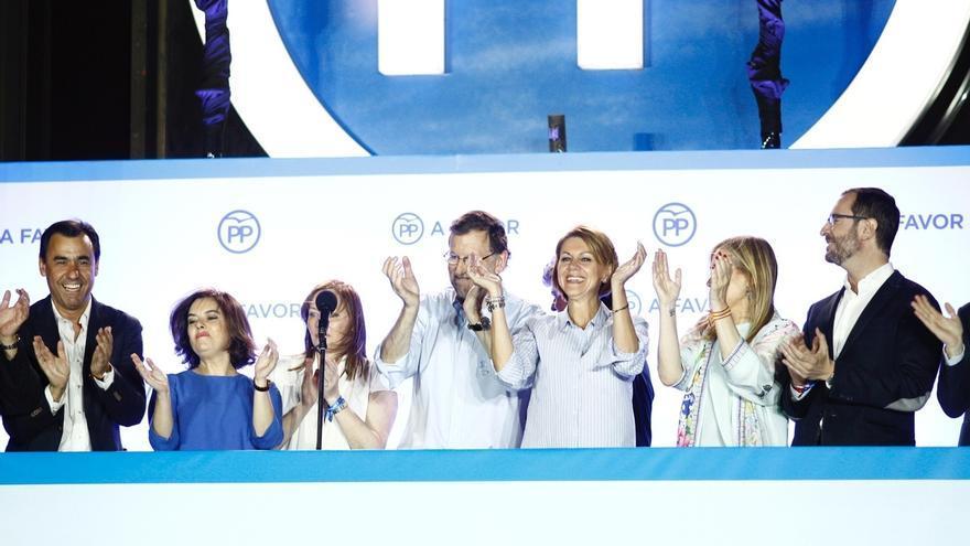 """Rajoy: """"Hemos ganado las elecciones, reclamamos el derecho a gobernar"""""""