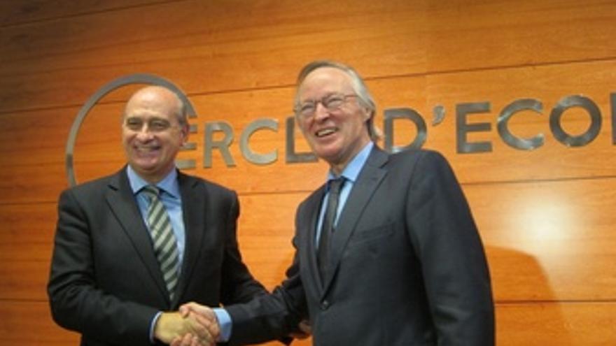 Jorge Fernández Y Josep Piqué