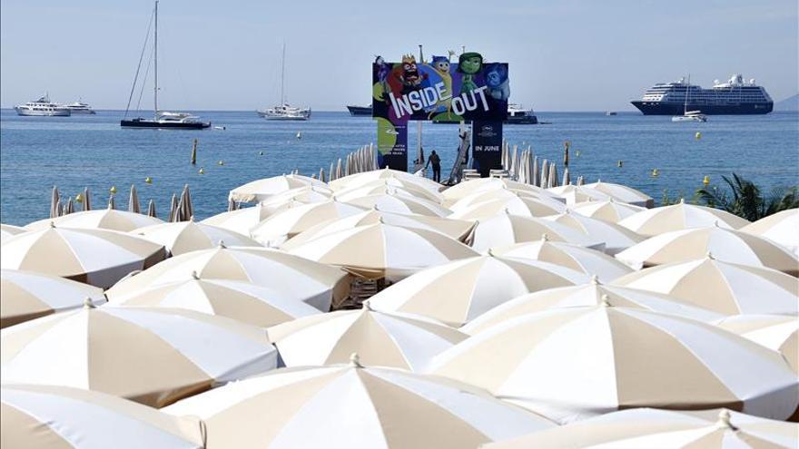 """Primera gran ovación de Cannes para la animación de """"Inside Out"""""""