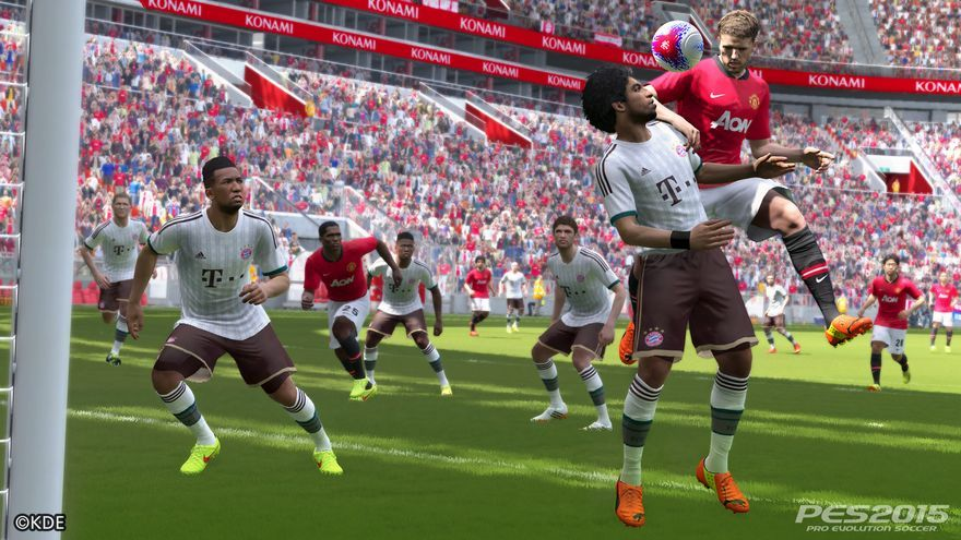 PES 2015 MANCHESTER