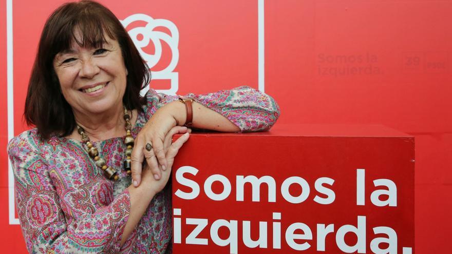 La presidenta del PSOE, Cristina Narbona.