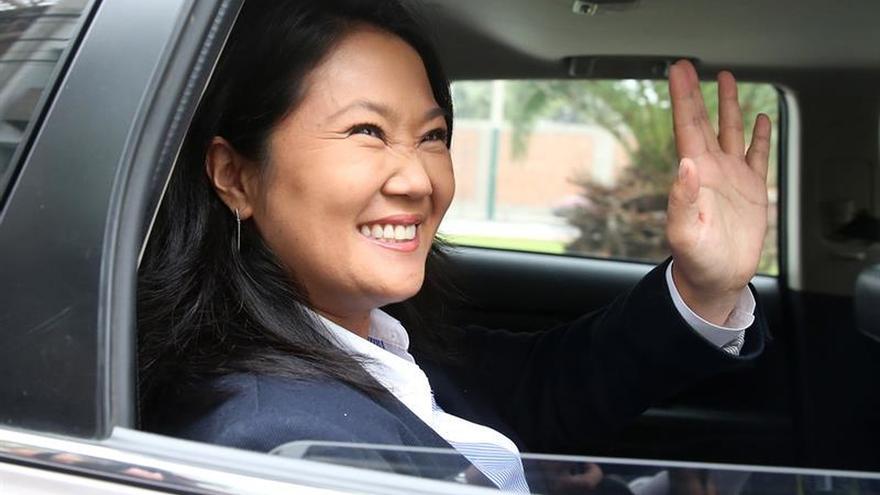 Keiko Fujimori dice no hay sustento para la investigación por crimen organizado