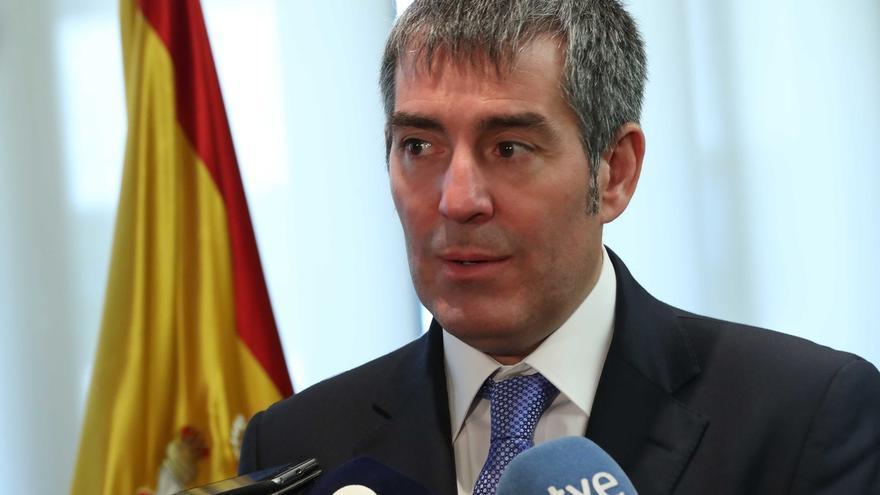 """Presidente Canarias: """"Si se propicia no cumplir las normas, se sabe donde se empieza pero no donde se acaba"""""""