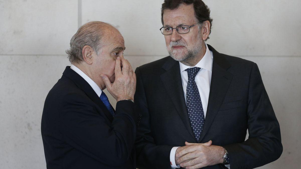 Fernández Díaz y Rajoy durante su etapa de Gobierno