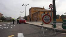 Un control de la Policía Local en Valencia