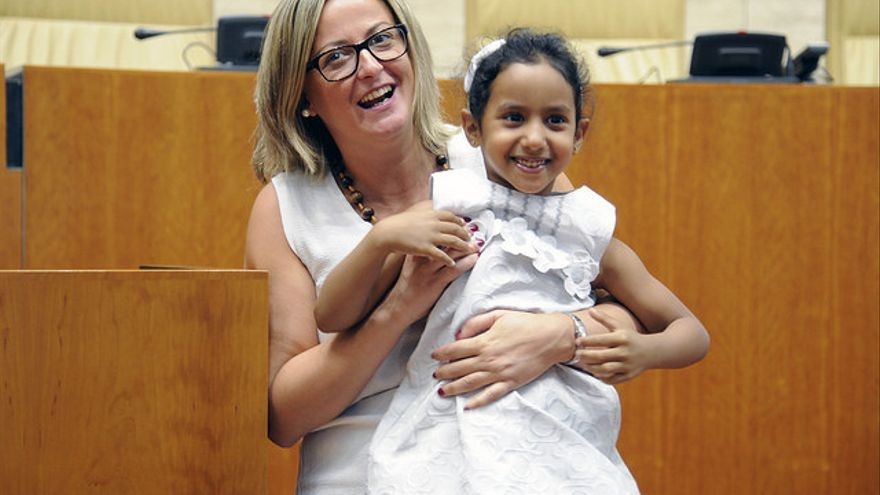 Blanca Martín niña saharaui