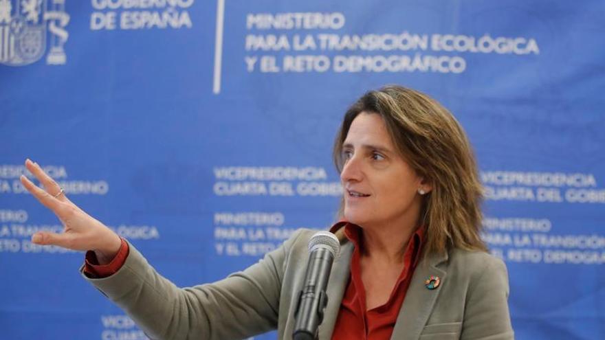 La vicepresidenta cuarta del Gobierno de España y ministra para la Transición Ecológica y el Reto Demográfico, Teresa Ribera.