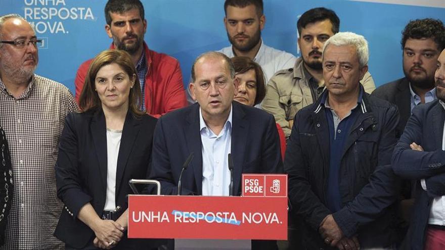 """Leiceaga asume la derrota y promete """"oposición constructiva"""" este mandato"""
