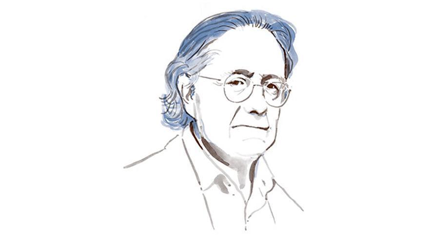 Ilustración del filósofo Josep Ramoneda.