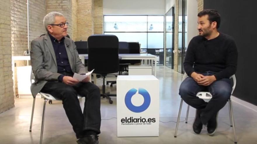 Adolf Beltran entrevista a Vicent Marzà