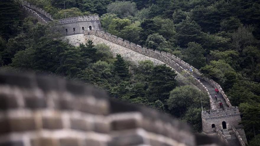 Cierran parte de Gran Muralla por lluvias torrenciales en el norte de China