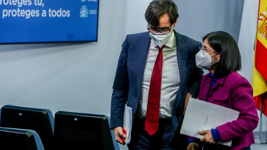 Salvador Illa dejará el Ministerio de Sanidad este martes