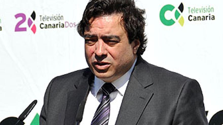 Xuancar, director de la Unidad de Negocio de Prisa en Canarias. (ACFI PRESS)