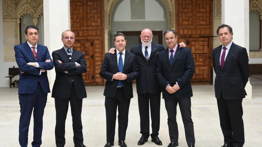 Roberto Polo en una reciente reunión con el Gobierno de Castilla-La Mancha