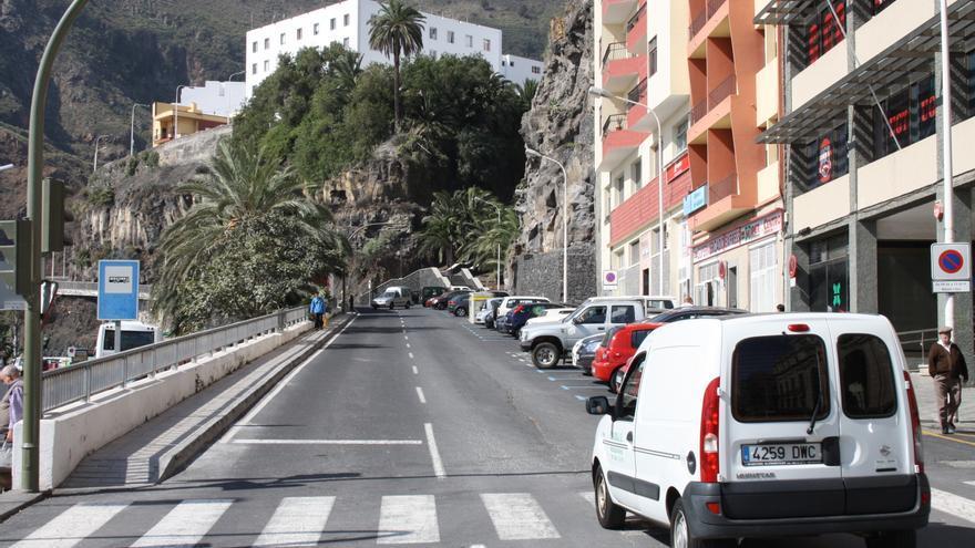 En la imagen, carretera El Galión de Santa Cruz de La Palma.