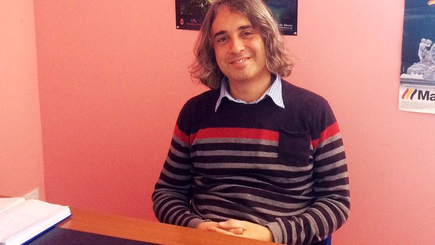 Félix Miranda, el concejal de IUC que propuso la moción aprobada en Granadilla