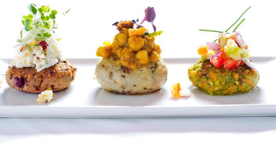 Tikki Teen Tarike Te, uno de los platos que se pueden pedir del restaurante indio Benares