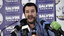 """Salvini, en el Senado italiano: """"Pedro Sánchez tiene amplio margen para ejercitar su solidaridad"""""""