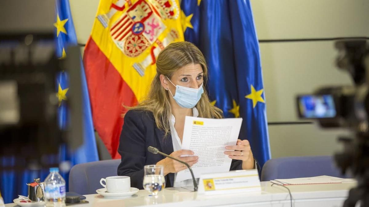 La ministra de Trabajo y Economía Social,YolandaDíaz, en una imagen de archivo.