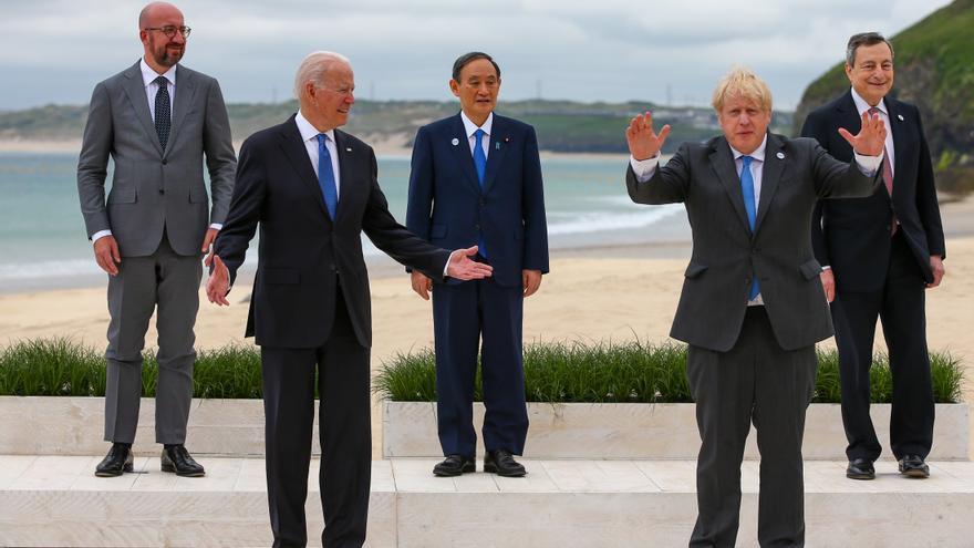 Biden pone el foco en China en el G7 y apuesta por un gran plan de infraestructura