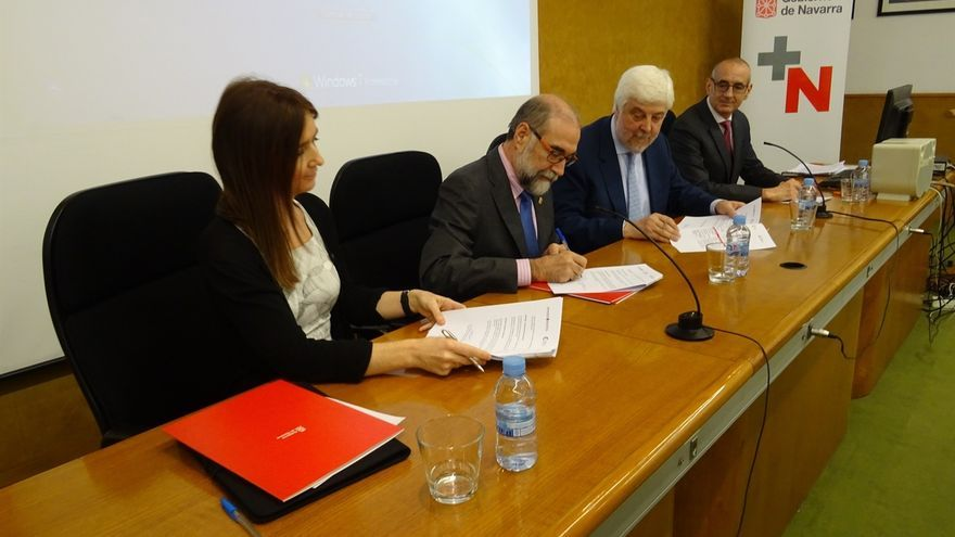 Salud y las sociedades Española y Vasco-Navarra de Cardiología colaborarán en mejorar la calidad asistencial