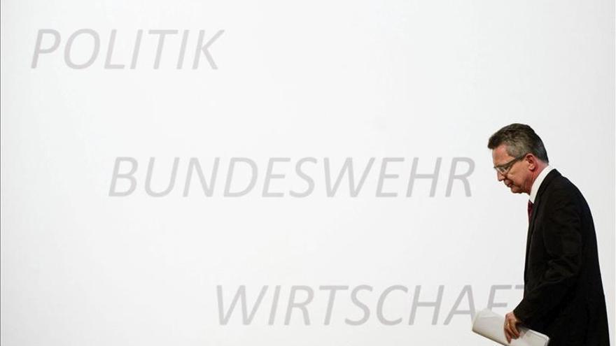 El ministro alemán de Defensa promete transparencia sobre los proyectados drones