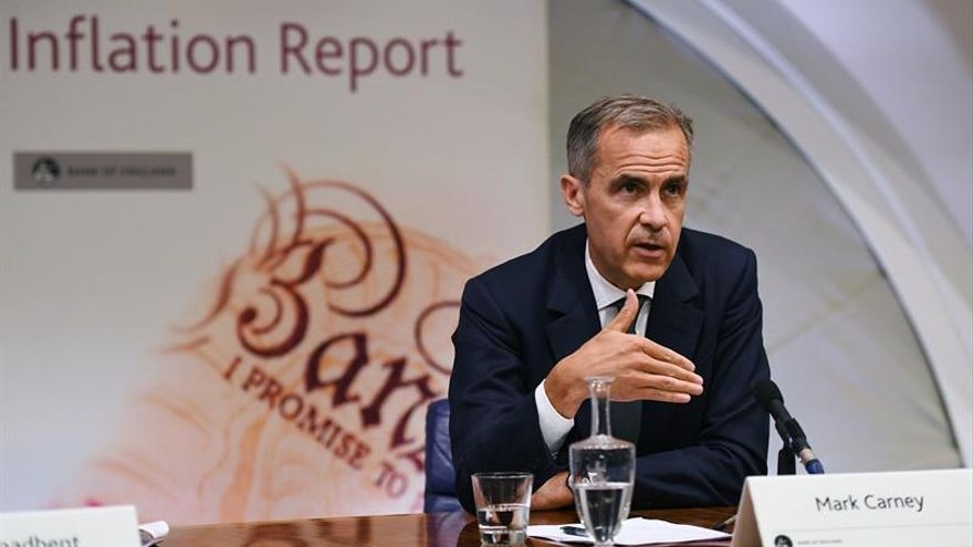 El Banco de Inglaterra deja los tipos en el 0,25 % pese a la creciente inflación