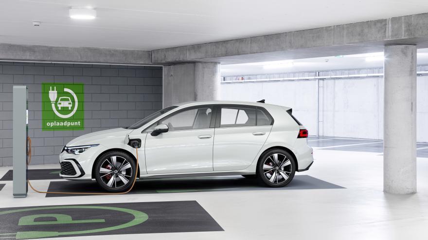 Volkswagen Golf GTE, ahora con tecnología híbrida enchufable.