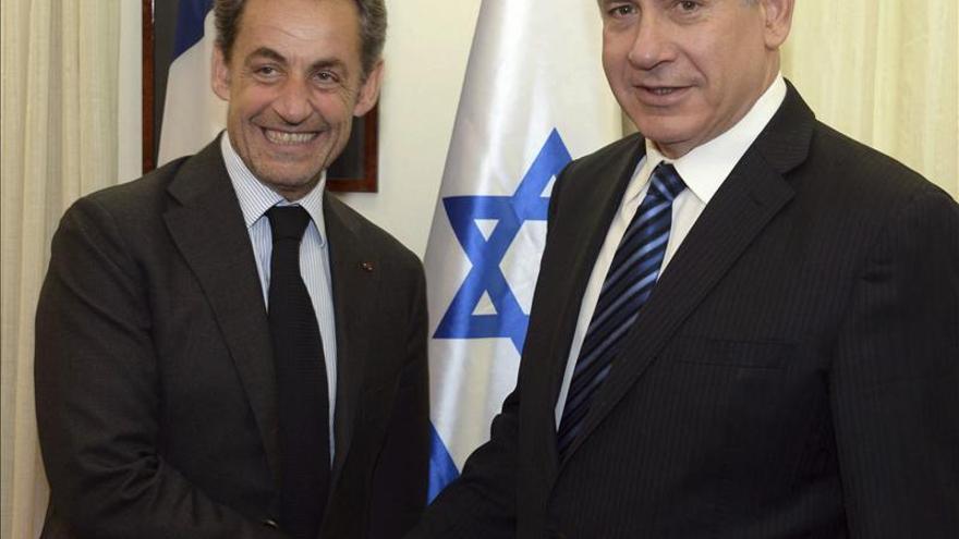 """Sarkozy asegura que el pueblo judío """"es el mejor cualificado para comprender la cuestión palestina"""""""