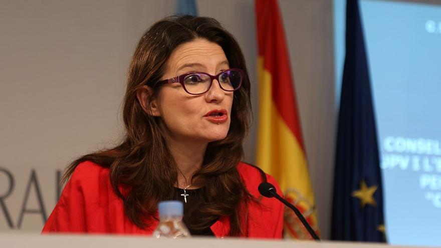 La vicepresidenta y consellera de Inclusión, Mónica Oltra