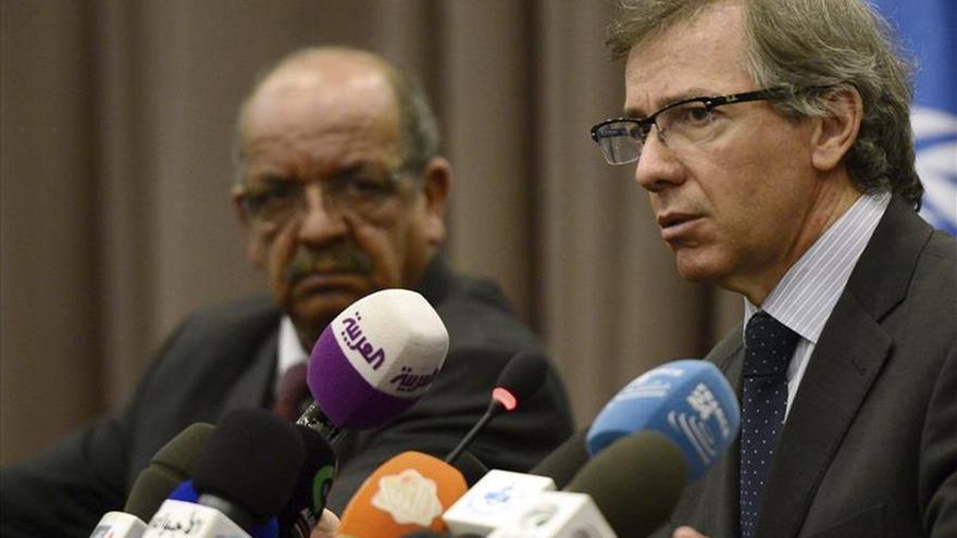 León optimista para llegar a un acuerdo entre libios antes del domingo